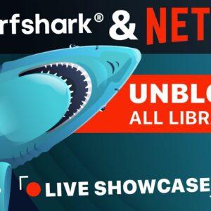 Surfshark for Netflix review: BEST VPN for streaming? LIVE TEST