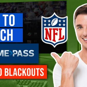 🏈 How to Watch Live NFL Game Pass Games with No Blackouts (Anywhere in the World)🔥