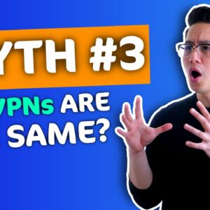 All VPNs are the same - VPN MYTH debunked 🔥6 things you should know now