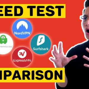 VPN Speed Test Comparison | The 4-Way race to the top