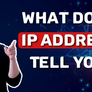 What does IP address tell you | AND what can someone do with it??