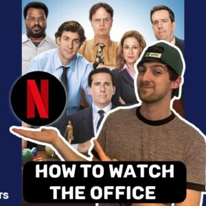 How to watch THE OFFICE on NETFLIX now! #shorts