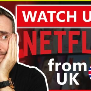 How to Watch American Netflix in UK 🌍 PrivateVPN Live Test 📺