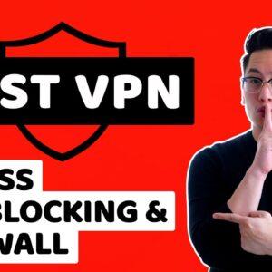 Best VPN to bypass geoblocking, firewalls & censorship | TOP 4